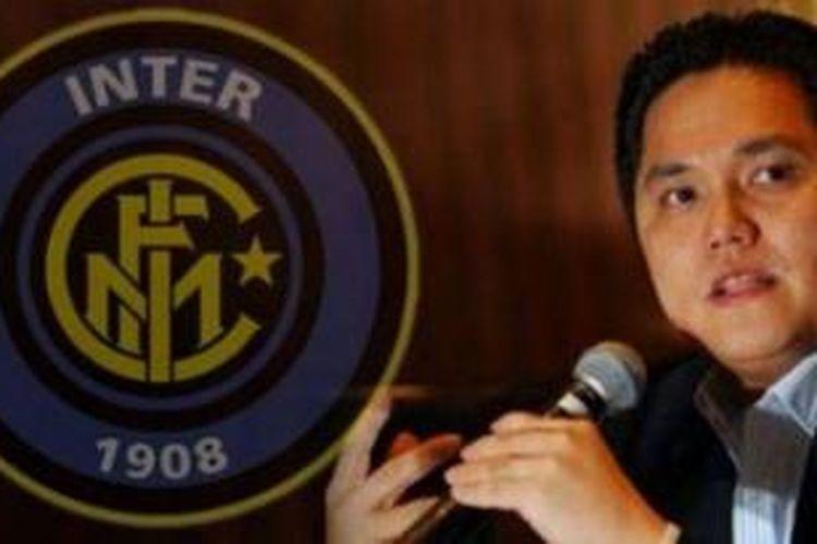 Pemilik sekaligus Presiden baru Inter Milan, Erick Thohir
