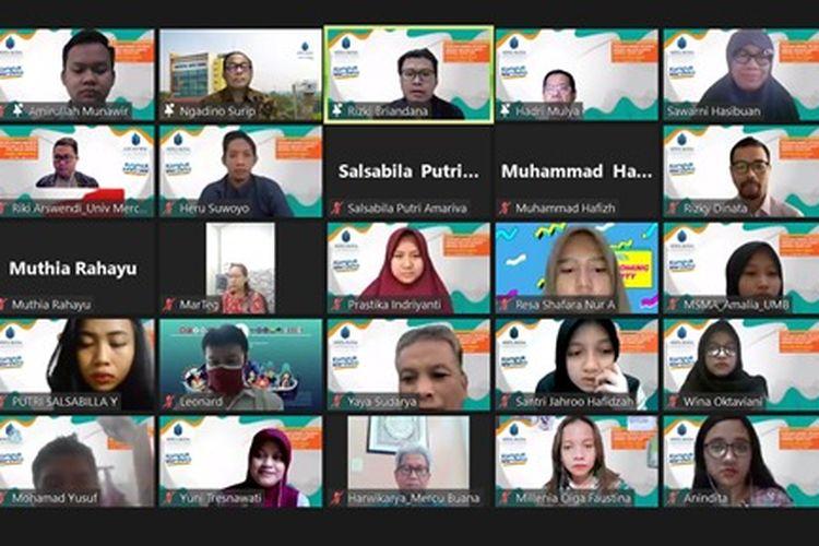 Universitas Mercu Buana (UMB) melepas 87 mahasiswa untuk mengikuti berbagai program Merdeka Belajar Kampus Merdeka (MBKM).