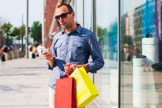 Pengeluaran Belanja Pria Nyaris Sama dengan Wanita