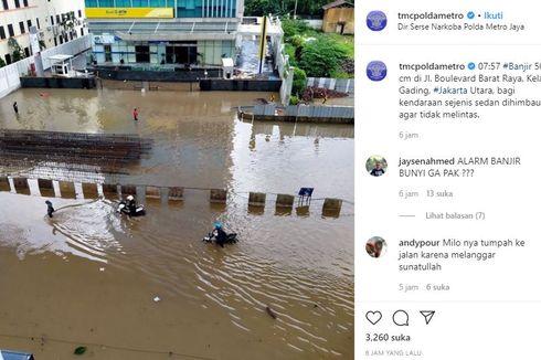 Pulomas dan Kelapa Gading Banjir, Pemprov DKI Bantah Tutup Pintu Air Sunter