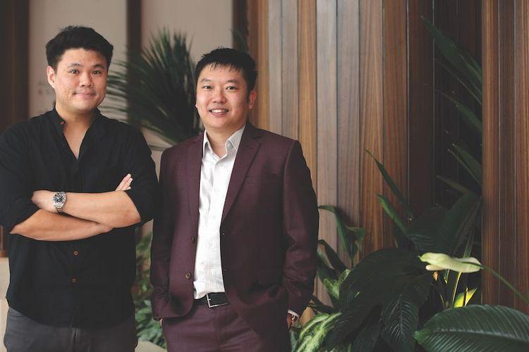 Darren Chua dan Remy Ng
