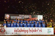 Tim Putra dan Putri DKI Jakarta Menangi Kejuaraan Nasional Rugbi 2017