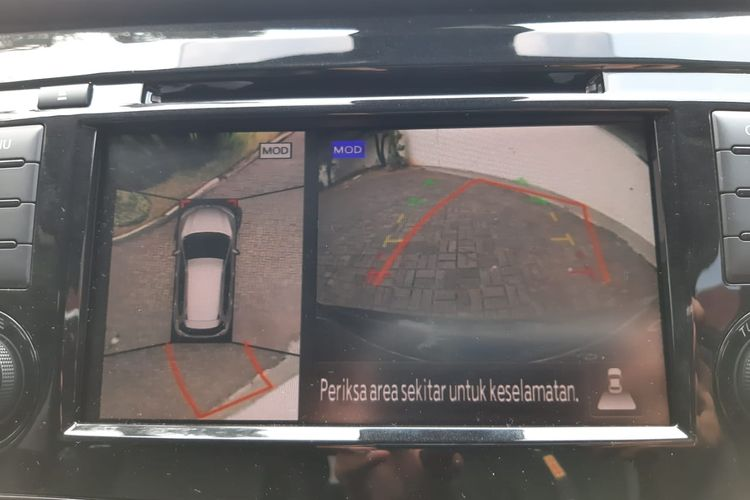 Fitur 360 di Nissan X-Trail Facelift 2019