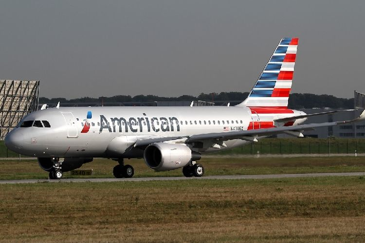 Airbus A319 milik American Airlines