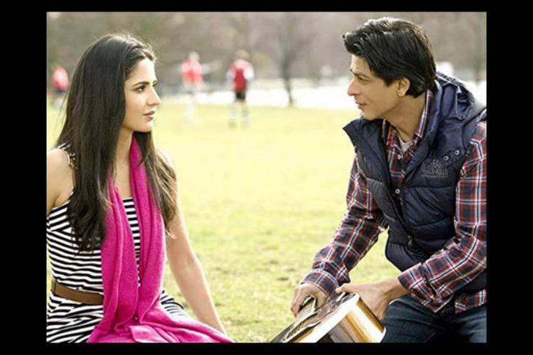 Shah Rukh Khan dan Katrina Kaif dalam Film Jab Tak Hai Jaan (2012).
