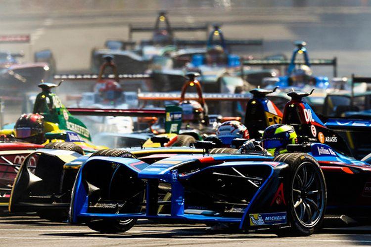 Balap Formula E, balap mobil listrik