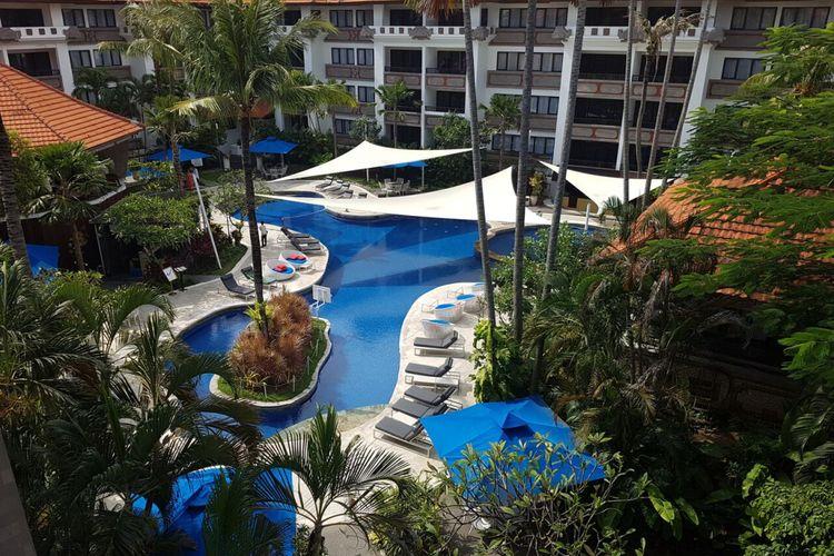Kolam renang di Prime Plaza Suites, Sanur, Bali.