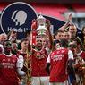 Respons Mikel Arteta Usai Aubameyang Menjatuhkan Trofi Piala FA