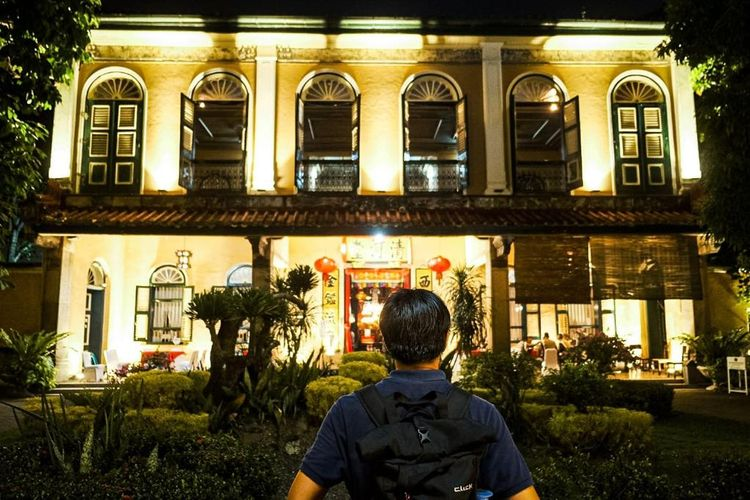 Kawasan Heritage Kesawan di Kota Medan.