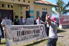 Protes Pembagian BLT, Warga di Maluku Tengah Segel Kantor Desa