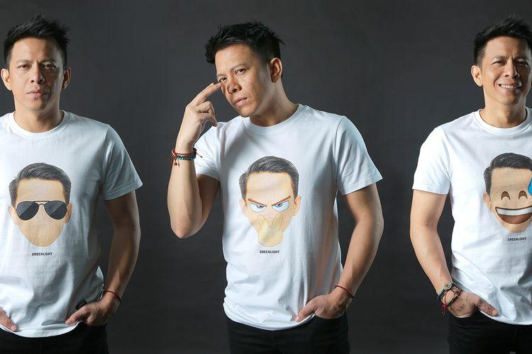 Bersama dengan Greenlight, Ariel NOAH merilis t-shirt dengan desain terbaru yang diberinama A Series 2020.