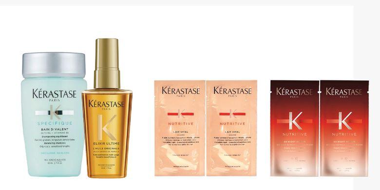 Rangkaian produk Kerastase kini bisa dibeli online.