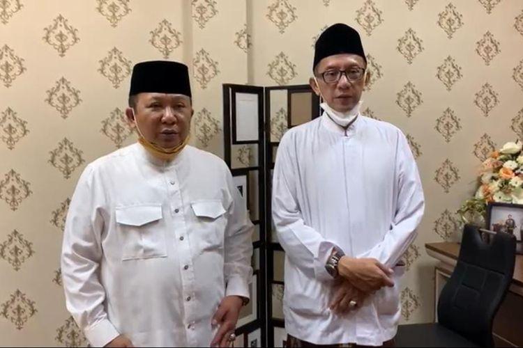 Paslon Hendy-Gus Firjaun  yang memperoleh hasil unggul berdasarkan hitung cepat LSI Denny JA menghimbau warga Jember tidak euforia