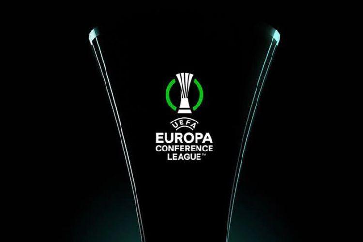 Logo kompetisi UEFA Europa Conference League atau UECL. Europa Conference League akan menjadi kompetisi strata ketiga Eropa dan akan dimulai pada musim 2021-2022. (Sumber foto: Tangkapan layar situs web UEFA)