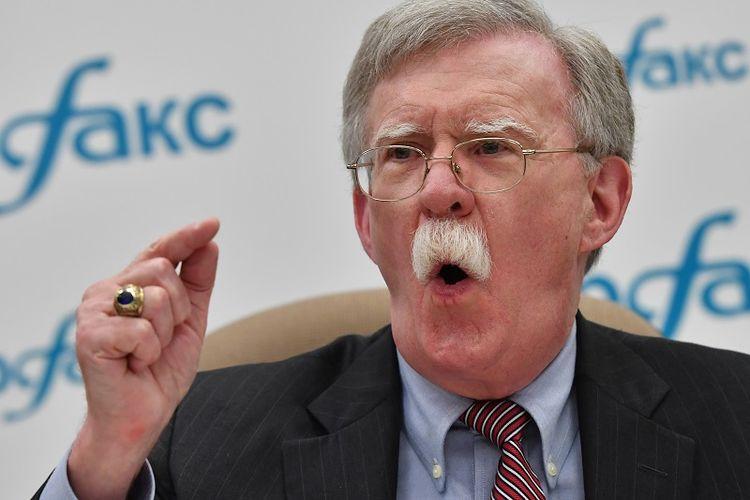 Penasihat keamanan Gedung Putih, John Bolton.