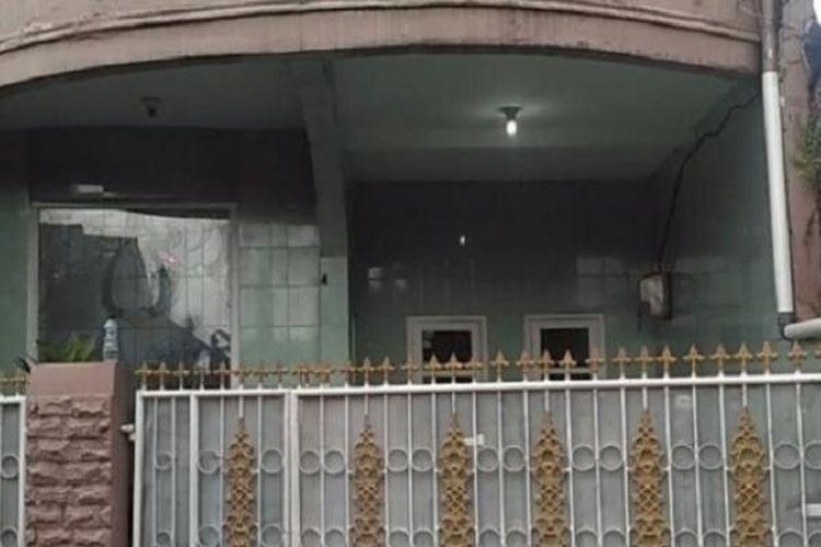 Rumah orangtua Firza Husein di Jalan Makmur, Lubang Buaya, Pondok Gede, Jakarta Timur.