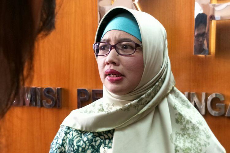 Komisioner Komisi Perlindungan Anak Indonesia (KPAI), Bidang Pendidikan, Retno Listyarti ketika ditemui di kantornya, Jakarta, Selasa (17/4/2018).