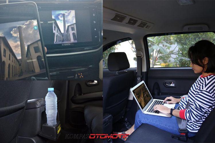 Kenyamana kabin dan ragam fitur Rush yang menemani perjalanan tim Merapah Trans Jawa 4.0