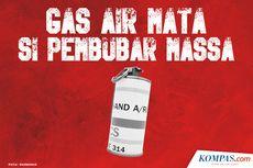 Aktivis HAM Sebut Polisi Gunakan Gas Air Mata Kadaluwarsa