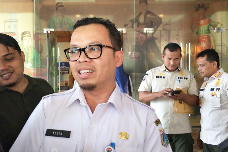 Kepala Dinas Perumahan Rakyat dan Kawasan Permukiman DKI Jakarta Kelik Indriyanto di Balai Kota DKI Jakarta, Rabu (9/10/2019).