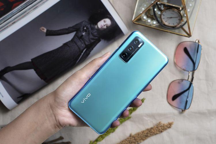 Ilustrasi smartphone Vivo