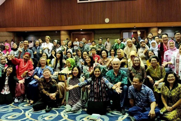 Peluncuran buku Jiwa Sehat, Negara Kuat di Unika Atma Jaya Jakarta (13/8/2019).