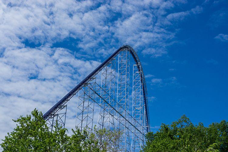 Roller Coaster Millennium Force di Ohio, AS.