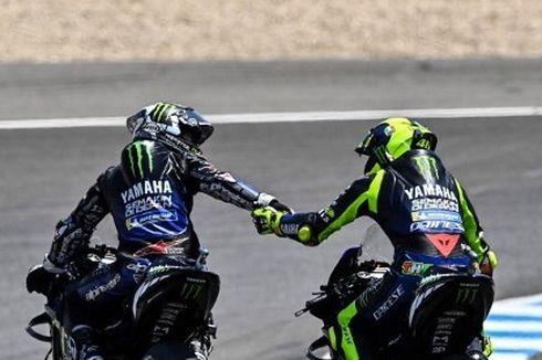 Hengkangnya Vinales Tak Pengaruhi Keputusan Rossi Pensiun