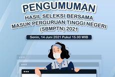 10 PTN dengan Nilai Rerata Tertinggi SBMPTN 2021 Soshum dan Saintek