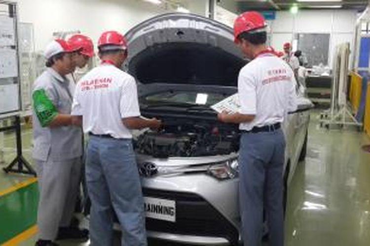 Fasilitas Toyota Learning Center di Karawang, Jawa Barat