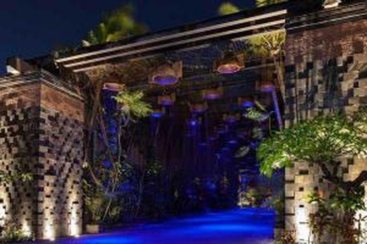 Rain Forest Gate di St. Regis Bali Resort di Nusa Dua, Bali.