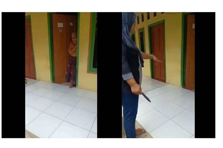 Sebuah video berisikan dugaan kampanye hitam terhadap pasangan capres-cawapres nomor urut 01, Jokowi-Maruf, beredar di media sosial.