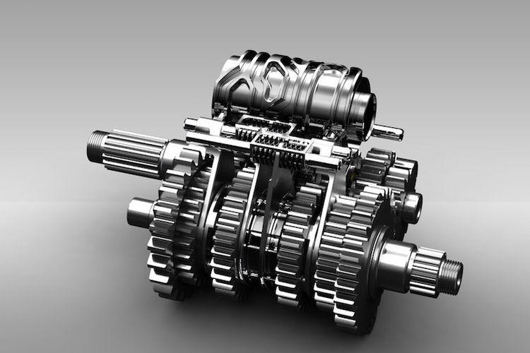 Teknologi girboks seamless pada motor balap MotoGP