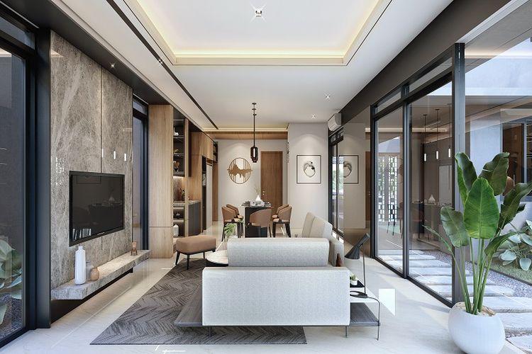 Living room Nayapati Residence