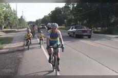 Pria 63 Tahun Cetak Rekor Dunia Bersepeda 30 Hari Sejauh 11.616 Km