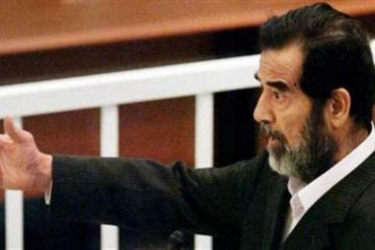 Mendiang diktator Irak, Saddam Hussein.