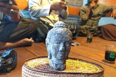 Seorang Petani Temukan Kepala Patung Buddha, Tetap Tegak Saat Ditinggalkan di Ladang