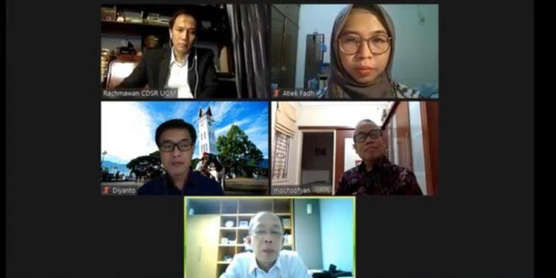 Webinar yang diselenggarakan Energy Academy Indonesia (ECADIN), Kamis (11/06/2020).