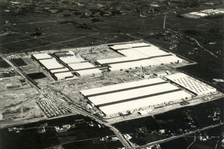 Pabrik yang mulai beroperasi tahun 1970 membuat sejumlah mobil penumpang Toyota.