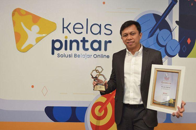 Kelas Pintar meraih penghargaan Best Education Platform di Selular 2020. (Dok. Kelas Pintar)