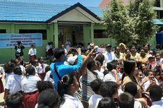 Mendikbud Kunjungi Papua, Siswa SD Tagih Janji Jokowi Ajak Liburan ke Dufan