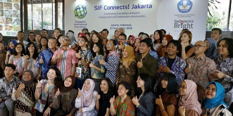 Para alumni SIF dalam acara SIF Connects! Jakarta (22/9/2018)
