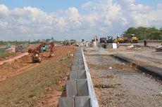 Kecepatan Kendaraan di Tol Kayu Agung-Palembang 40 Kilometer Per Jam