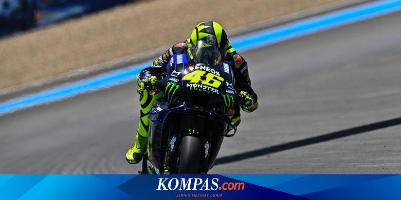 Eks Petinggi Repsol Honda Tanggapi Sinis Podium Rossi di MotoGP Andalusia
