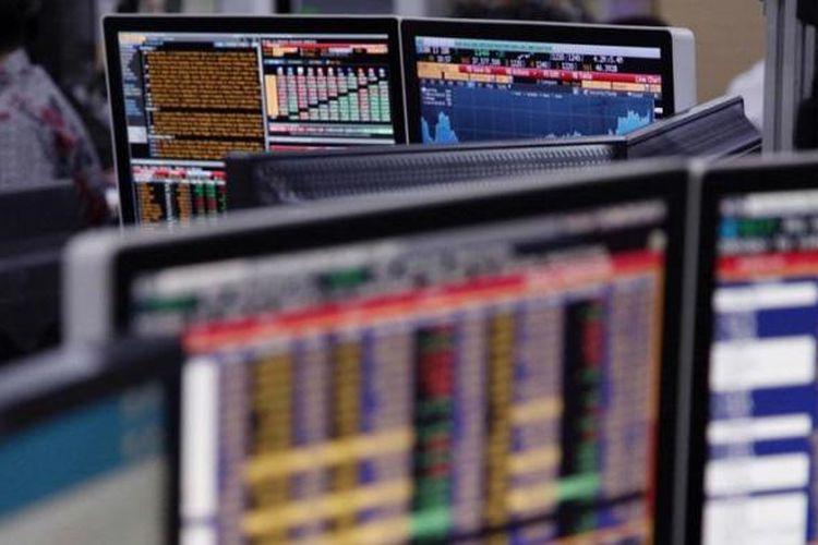 Ilustrasi: Aktivitas perdagangan saham