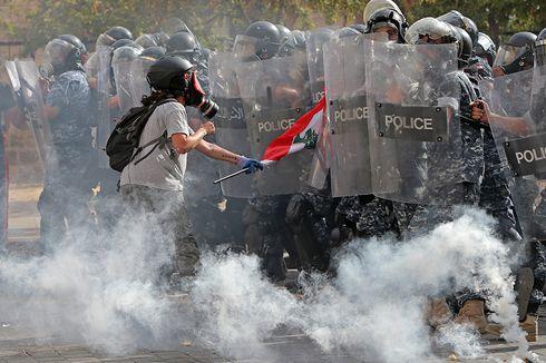 Demonstrasi Pecah Setelah Ledakan di Beirut, PM Lebanon Janjikan Pemilu Dini