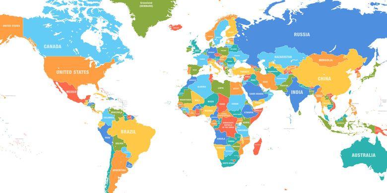 Sejarah Peta, Bermula dibuat di Tanah