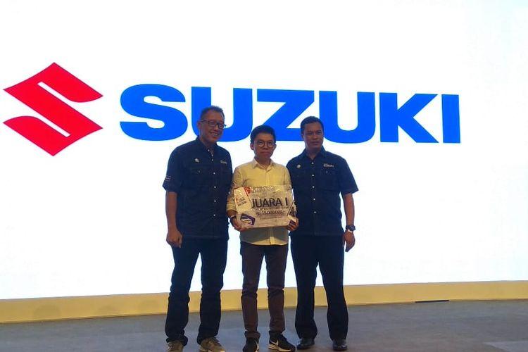 Suzuki kenalkan logo baru layanan call centernya