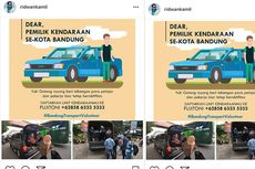 Ridwan Kamil Ajak Warga Bandung Jadi Relawan Transportasi