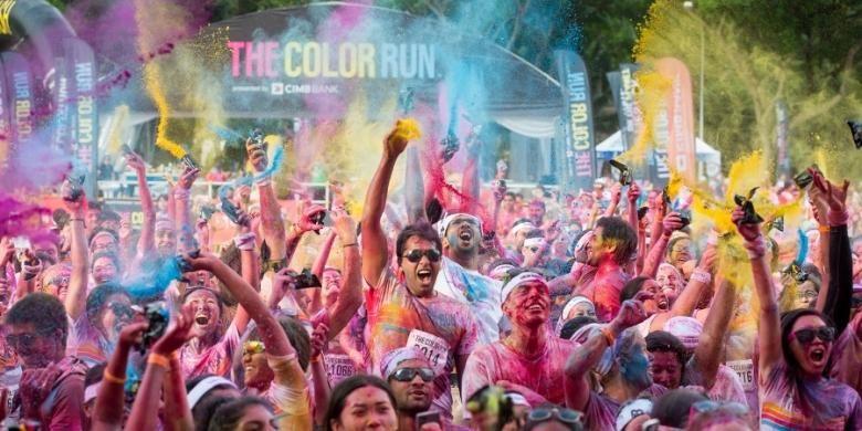 Ilustrasi Color Run